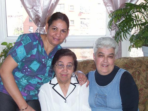 Candida Cruz (PCHM), Edin Rodriguez (GAFC Client), and Ann Castle (Nurse)