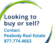 Looking to buy, sell or rent? Contact Peabody Real Estate - 617.307.5959