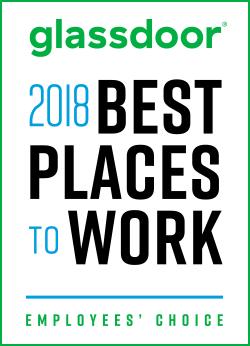Glassdoor 2018 Best Places to Work