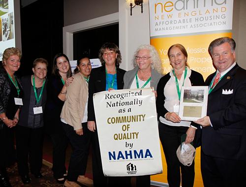 "Charlesview - Community of Quality ""Best Turn Around Property"" NEAHMA 2014"