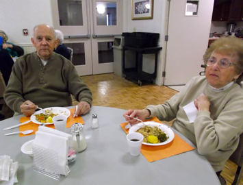 Chimney Hill Meals Program - Charles Sciaraffa and Terry Dandurand