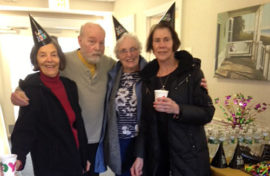 Pictured (from left to right) Mary Lucas, Bill Bradford, Deborah Bush, and Suzanne Peterson.