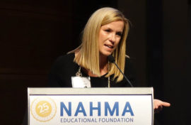 Melissa Fish-Crane of the Peabody Companies Honored with NAHMA's Educational Foundation 2019 Inspiration Award
