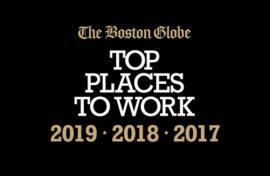 The Boston Globe Top Places to Work 2019