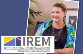The Peabody Companies' Kristin Pine named Certified Property Manager® of the Year by the Institute of Real Estate Management®, Boston Chapter