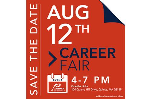 The Peabody Companies to Host Career Fair, August 12th