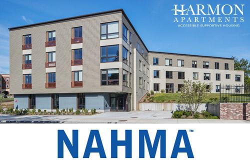 Harmon Apartments in Dorchester, MA wins the 2021 NAHMA Vanguard Award for New Construction